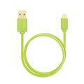 Obrázok pre výrobcu AXAGON HQ Kabel Micro USB, 2A, zelený, 1 m