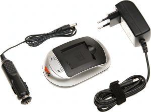 Obrázok pre výrobcu Nabíječka T6 power JVC BN-VG107, BN-VG108, BN-VG114, BN-VG121, BN-VG138, 230V, 12V, 1A