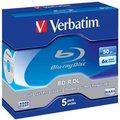 Obrázok pre výrobcu Verbatim BluRay BD-R Dual Layer [ jewel 1ks | 50GB | 6x | Scratchguard Plus ]