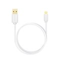 Obrázok pre výrobcu AXAGON HQ Kabel Micro USB, 2A, bílý, 0.2 m