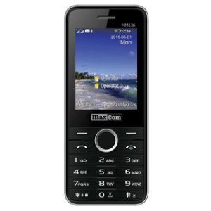Obrázok pre výrobcu MAXCOM Telefón DUAL Sim MM136 čierno/strieborný