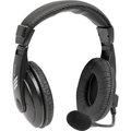 Obrázok pre výrobcu Defender Gryphon 750, slúchadlá s mikrofónom, ovládanie hlasitosti, čierna, uzatvorené, 2x 3.5 mm jack