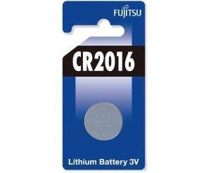 Obrázok pre výrobcu Fujitsu Lithium Battery CR2016 gombíková batéria, 1 ks, Blister