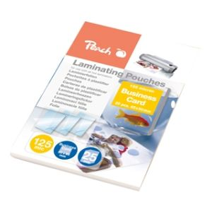 Obrázok pre výrobcu PEACH Laminovacie kapsy pre vizitky (60x90mm) 125mic 25ks PPR525-08