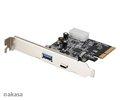 Obrázok pre výrobcu AKASA PCIex USB 3.1 karta