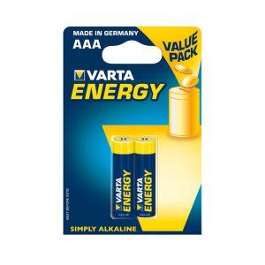 Obrázok pre výrobcu VARTA Alkaline batteries R3 (AAA) 2pcs energy