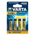 Obrázok pre výrobcu VARTA Alkaline batteries R3 (AAA) 4pcs longlife