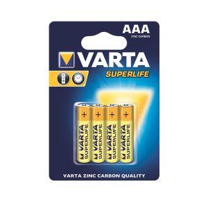 Obrázok pre výrobcu VARTA zinc carbon batteries R3 (AAA) 4pcs superlife