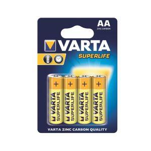 Obrázok pre výrobcu VARTA zinc carbon batteries R6 (AA) 4pcs superlife