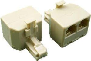 Obrázok pre výrobcu Rozdvojka UTP CAT5E 3xRJ45 (8p8c-1M/2F)