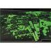 Obrázok pre výrobcu Podložka pod myš, Cobra S, herná, čierno-zelená, 28x22.5cm, E-Blue