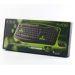 Obrázok pre výrobcu E-BLUE Klávesnica Elated, herná, čierna, drôtová (USB), US + CZ/SK prelepky, odolná proti poliatiu