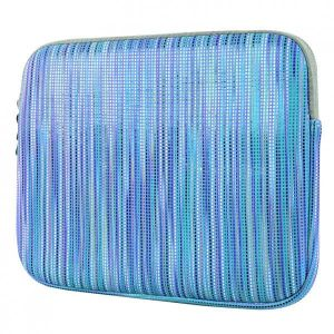 """Obrázok pre výrobcu Farebná obal na netbook, 10"""", PARTY COLORED, modrý z neoprénu, Logo"""