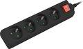 Obrázok pre výrobcu Přepěťová ochrana Lanberg PS1 4 zásuvky 1.5m černá