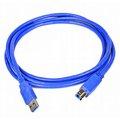 Obrázok pre výrobcu Qoltec Kábel pre tlačiarne USB 3.0 AM/BM 1.0m