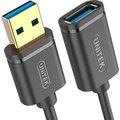 Obrázok pre výrobcu Unitek Y-C456GBK predlžovací kábel USB 3.0 AM-AF 0.5m, čierny
