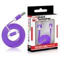 Obrázok pre výrobcu GT kábel USB/micro USB 1m fialový