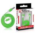 Obrázok pre výrobcu GT kábel USB/micro USB 1m zelený