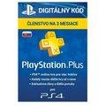 Obrázok pre výrobcu SONY PlayStation Plus Card Hang 90 Days/SVK