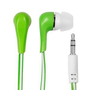 Obrázok pre výrobcu MSONIC stereo slúchadlá MP3/MP4 Silikónové MH132EE zelená
