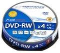 Obrázok pre výrobcu DVD-RW ESPERANZA [ cakebox 10 | 4.7GB | 4x ]