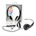 "Obrázok pre výrobcu 4World Stereofonické slúchadlá, s pohodlnými náušníky ""Color"", 1.5m, čierny"