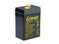Obrázok pre výrobcu Long 6V 4,5Ah olověný akumulátor F1