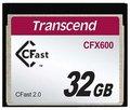 Obrázok pre výrobcu Transcend 32GB CFast 2.0 CFX600 paměťová karta (MLC)