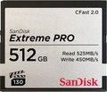 Obrázok pre výrobcu SanDisk Extreme Pro CFAST 512GB 525MB/s