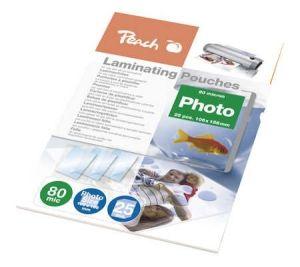 Obrázok pre výrobcu Peach Laminating Pouch Photosize 10x15 cm (106x156 mm), 80mic, S-PP080-20