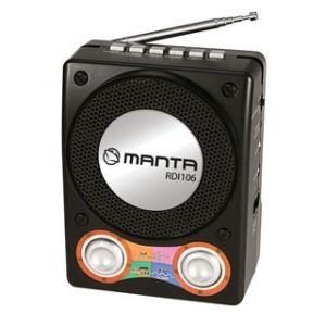 Obrázok pre výrobcu MANTA Rádio/MP3 prehrávač JOY RDI106