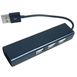 Obrázok pre výrobcu RIKOMAGIC USB 2.0 - 10/100MBit LAN adaptér + USB h