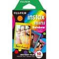 Obrázok pre výrobcu Fujifilm COLORFILM INSTAX mini 10 fotografií - RAINBOW