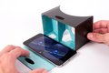 Obrázok pre výrobcu PanoBoard Click Boost, brýle pro virtuální realitu, černo-tyrkysové