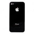 Obrázok pre výrobcu iPhone 4 Black Zadní Kryt OEM