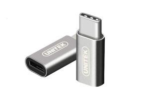 Obrázok pre výrobcu Unitek Y-A027AGY Adaptér USB type-C - Micro USB