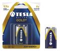 Obrázok pre výrobcu TESLA - baterie 9V GOLD+, 1ks, 6LR61