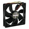 Obrázok pre výrobcu 4World Ventilátor pre VGA/GPU 40x40x10mm, 3-pin, klzné ložisko