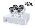 Obrázok pre výrobcu iGET HGDVK87704 -CCTV 8CH DVR + 4xFHD kamera 1080p