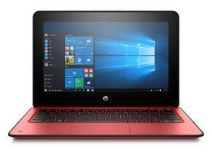 "Obrázok pre výrobcu HP ProBook x360 11 G1, Pentium N4200, 11.6"" HD Touch, 4GB, 128GB, ac, BT, Radiant Red, W10"