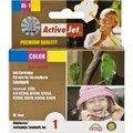 Obrázok pre výrobcu Atrament ActiveJet AL-1 | Color | 18 ml | Refill | Lexmark 18C0781E