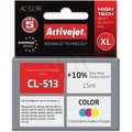 Obrázok pre výrobcu Ink ActiveJet AC-513R | Kolorowy | 15 ml | Canon CL-513