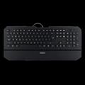 Obrázok pre výrobcu Modecom MC-800W drátová multimediální podsvícená klávesnice, US layout, USB, černá, bílé podsvícení