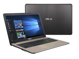 """Obrázok pre výrobcu ASUS X540SA-XX333T N3710 15.6"""" HD leskly UMA 4GB 1TB WL DVD/RW Cam Win10 čoko-čierny"""
