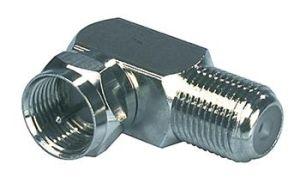 Obrázok pre výrobcu Valueline FC-020 - Anténní adaptér F zástrčka - F zásuvka Stříbrná