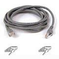 Obrázok pre výrobcu Belkin kabel PATCH UTP CAT5e 1m šedý, bulk Snagless