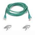 Obrázok pre výrobcu Belkin kabel PATCH UTP CAT5e 1m zelený, bulk Snagless