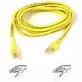 Obrázok pre výrobcu Belkin kabel PATCH UTP CAT5e 1m žlutý, bulk Snagless