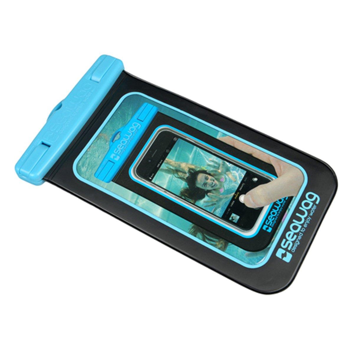SEAWAG Voděodolné pouzdro pro telefon Černá Modrá. FOCUS-computer c7efc551a14