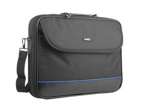 """Obrázok pre výrobcu Natec IMPALA taška na notebook 17.3"""", čierno-modrá (stiff shock absorbing frame"""